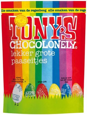 TONY'S CHOCOLONELY TINY MIX 180GR 20 Stuk