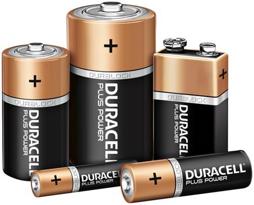 BATTERIJ DURACELL AA PLUS POWER 50% ALKALINE (12) 12 STUK-3