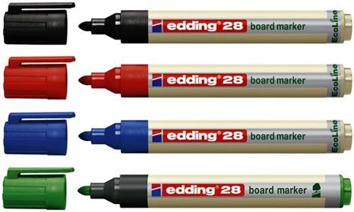 VILTSTIFT EDDING 28 WHITEBOARD ECO ROND 1.5-3MM ZW 1 STUK-2