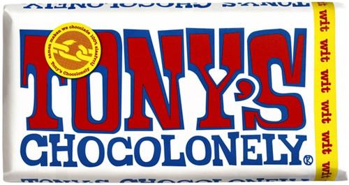 TONY'S CHOCOLONELY WIT 180GR 180 Gram