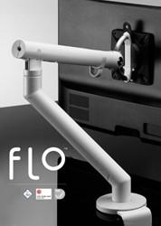 Flo monitorarm wit