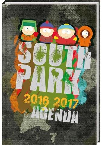 SCHOOLAGENDA 2016 SOUTH PARK 1 STUK