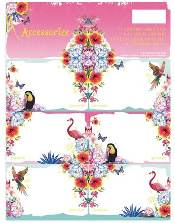 SCHOOLETIKET ACCESSORIZE SWEET 1 STUK