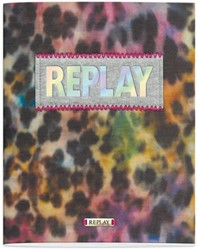 SCHRIFT REPLAY FASHION GIRLS A5 LIJN 3 STUK
