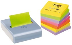 MEMOBLOKDISPENSER 3M POST-IT Z-NOTE CDV8P GRIJS 8 STUK