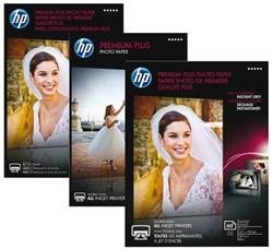 FOTOPAPIER HP CR676A 13CMX18CM 300GR PR PLUS GL 20 VEL