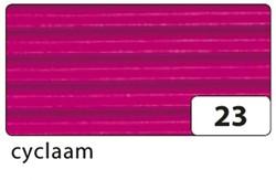 GOLFKARTON FOLIA E-GOLF 50X70CM 250GR NR23 CYCLAAM 1 STUK