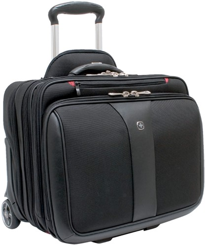 LAPTOPTAS TROLLEY WENGER PATRIOT 17 ZWART 1 Stuk