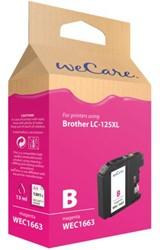 INKCARTRIDGE WECARE BRO LC-125XL ROOD 1 STUK