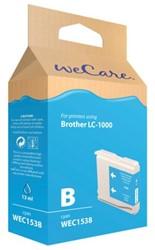 INKCARTRIDGE WECARE BRO LC-1000 BLAUW 1 STUK