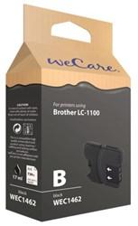 INKCARTRIDGE WECARE BRO LC-1100 ZWART 1 STUK