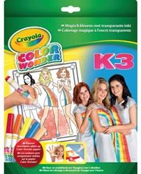 KLEURBOEK CRAYOLA COLOR WONDER K3 + STIFTEN 1+5 STUK