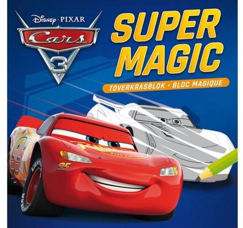 TOVERKRASBLOK DISNEY MAGISCH CARS 3 1 STUK