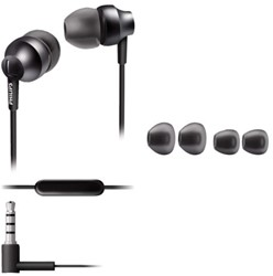 HEADSET PHILIPS SE3855G IN EAR GRIJS 1 STUK