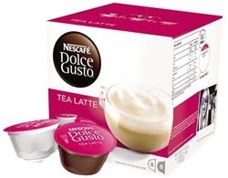 DOLCE GUSTO TEA LATTE 16 CUPS / 8 DRANKEN 16 CUP