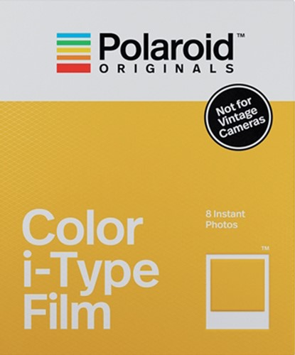 FILM POLAROID ORIGINALS KLEUR INSTANT FILM I-TYPE 1 STUK