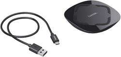 OPLADER HAMA INDUCTIE MICRO USB ZWART 1 STUK
