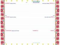 SCHOOLAGENDA 2016 ACCESSORIZE FASHION 1 STUK