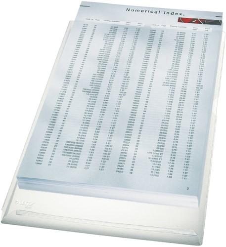 INSTEEKHOES LEITZ L-MODEL EXPANSIEVOUW A4 PVC TR 5 STUK