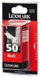 INKCARTRIDGE LEXMARK 50 17G0050E HC ZWART 1 STUK
