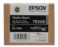EPSON CARTRIDGE T8508 MAT ZWART
