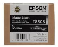 EPSON CARTRIDGE T8508 MAT ZWART