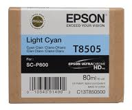 EPSON CARTRIDGE T8505 LICHT CYAAN