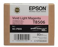 EPSON CARTRIDGE T8506 LICHT MAGENTA