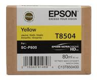 EPSON CARTRIDGE T8504 GEEL