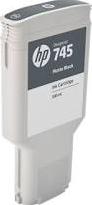 HP CARTRIDGE 745 MAT ZWART 300ML