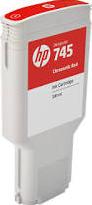 HP CARTRIDGE 745 CHROMATIC ROOD 300ML
