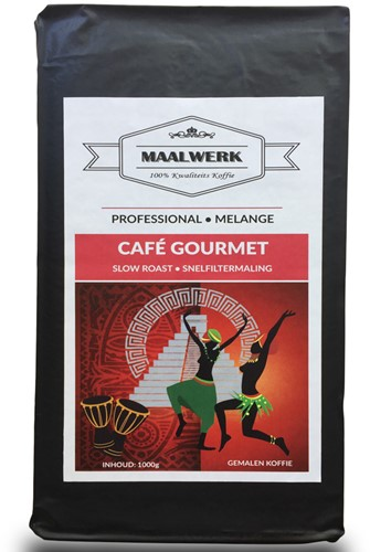 MAALWERK Café Gourmet Snelfilter 1 KG VACUUM         -1