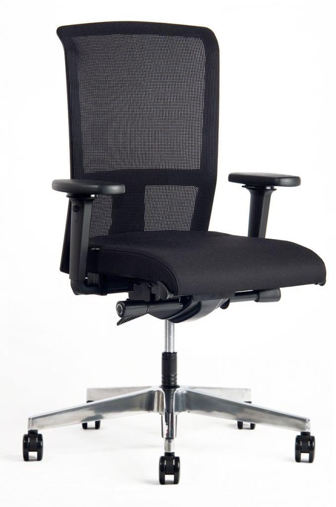 Bureaustoel Met Lendesteun.Se7en Bureaustoel Net Flex Npr 3496 Lendesteun Bij Prokan